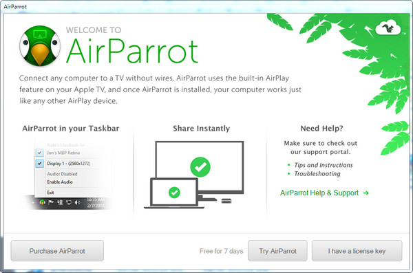 airparrot for windows